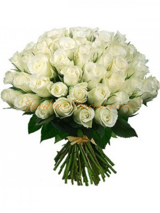51 Елитни бели рози