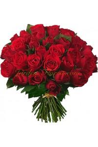 Букет 51 червени рози